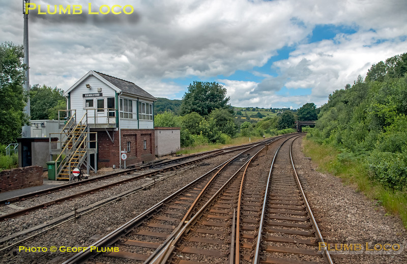 BLS 170 Farewell, PoV 170 307, Grindleford Signal Box, 3rd July 2016