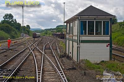 PoV 170 307, 170 Farewell Tracker, Peak Forest South Signal Box, 3rd July 2016