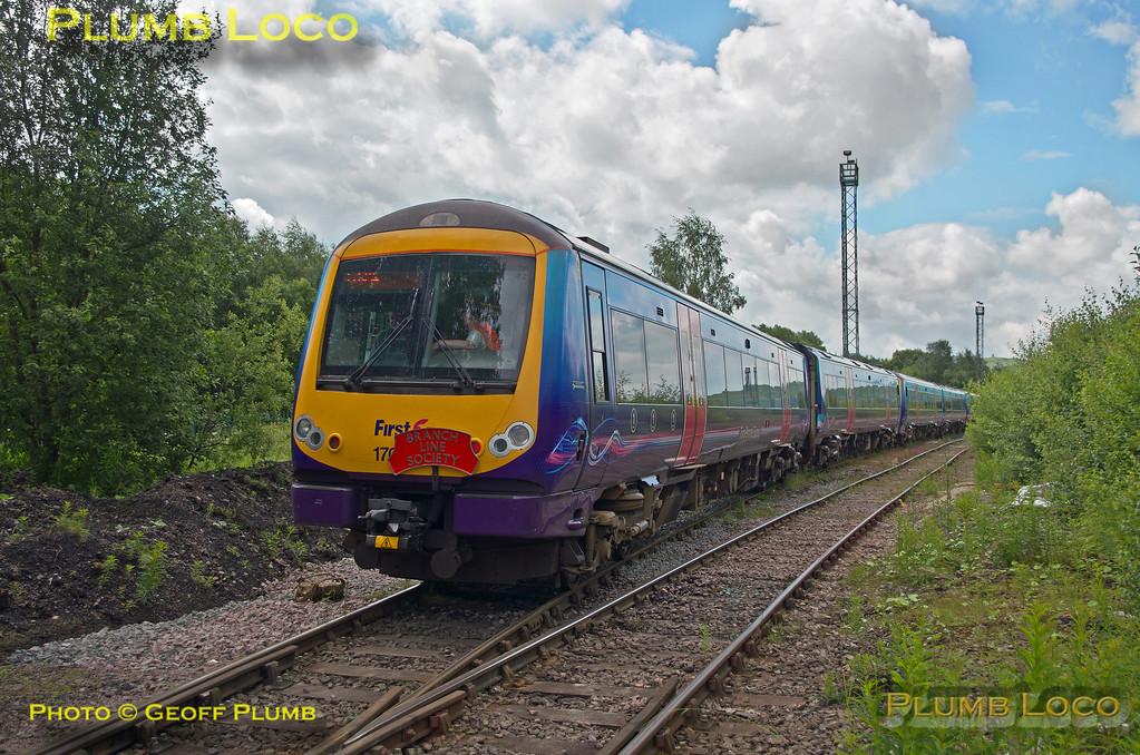 170 307, Class 170 Farewell Tracker, Buxton URS, 1Z70, 3rd July 2016