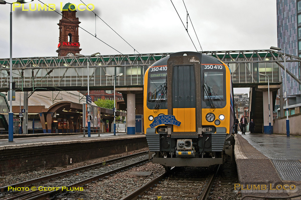 350 410, TPE Clyde Race Tracker, Manchester Oxford Road, 1Z50, 26th April 2014