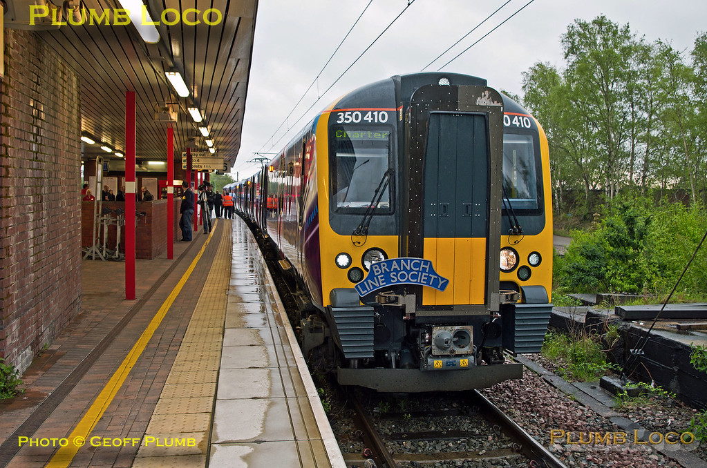 350 410, TPE Clyde Race Tracker, Wigan North Western, 1Z50, 26th April 2014