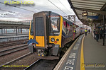 350 410, _TPE Clyde Race Tracker, Manchester Piccadilly, 1Z52, 26th April 2014