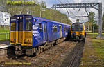 350 410, TPE Clyde Race Tracker, Corkerhill CSMD Head Shunt, 1Z51, 26th April 2014