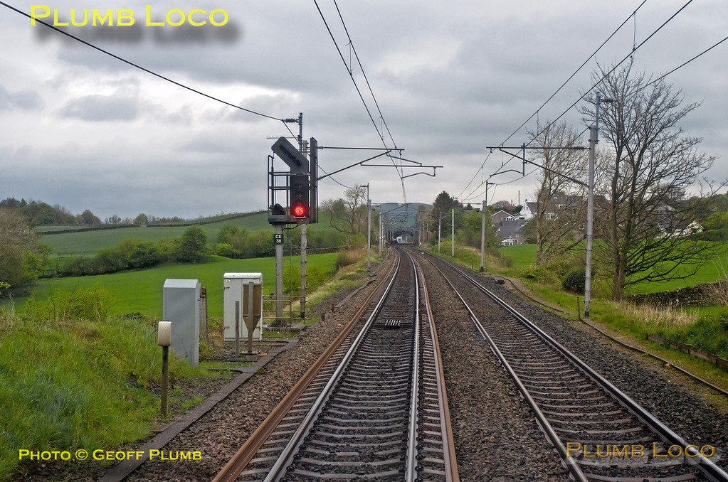 TPE Clyde Race Tracker, Signal CE38, Oxenholme, 1Z50, 26th April 2014