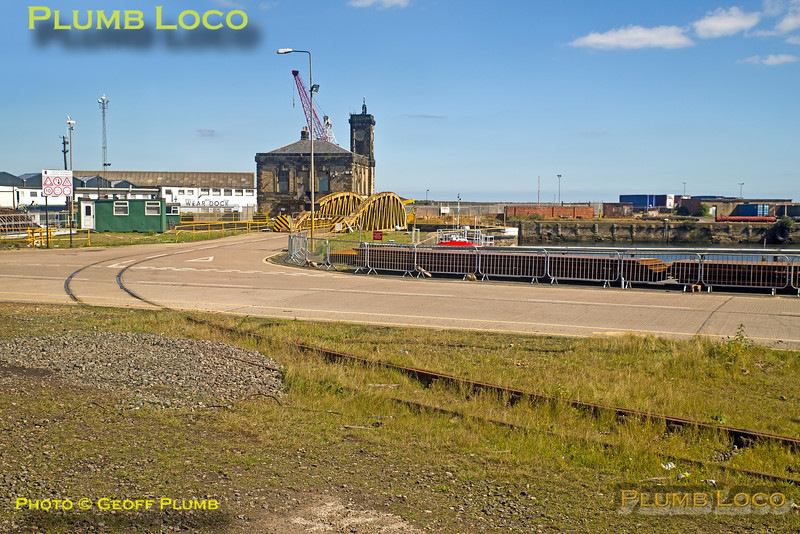 BLS, Tale of Two Ports, Gladstone Swing Bridge, Sunderland, 29th August 2016
