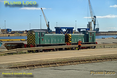 BLS, Tale of Two Ports, Ruston Shunters, Sunderland, 29th August 2016
