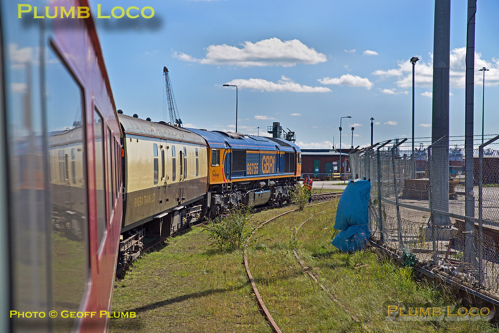 66755, BLS Tale of Two Ports, Port of Sunderland, 1Z25, 29th August 2016