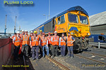66755, BLS Tale of Two Ports, Crew Group Shot, Tyne Dock, 29th August 2016