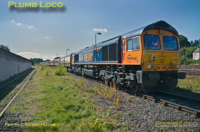 66755, BLS, Tale of Two Ports, Ferryhill TC, Old Yard, 1Z25, 29th August 2016
