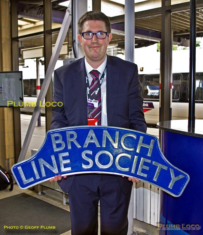 "Matthew Dodd, BLS ""Thameslink Tracker"", Bedford Station, 12th July 2015"