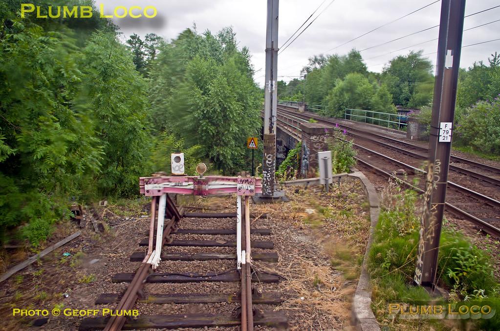 "PoV 319 444, BLS ""Thameslink Tracker"", Bedford CS Washer Road, 1Z19, 12th July 2015"