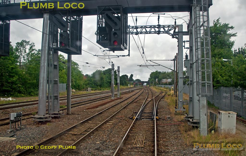 "PoV 319 444, BLS ""Thameslink Tracker"", Signal WH475, Bedford, 1Z19, 12th July 2015"