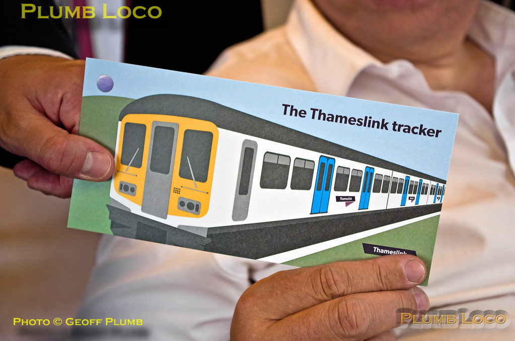 "Matthew Dodd, BLS ""Thameslink Tracker"", Souvenir Ticket, Bedford, 12th July 2015"