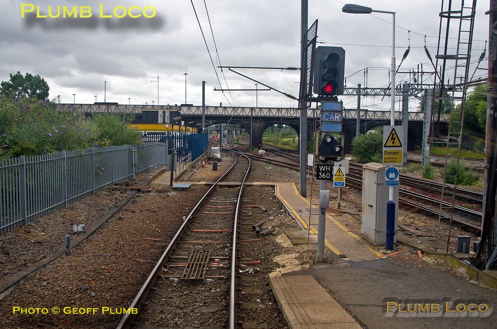 PoV 319 444, BLS Thameslink Tracker Tour, Bedford Platform 1, 1Z19,  12th July 2015