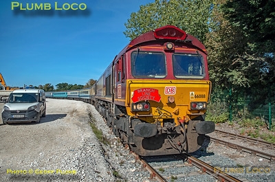 "BLS ""The Breckland Freighter"", 66088, Brandon Down Sidings, 14th September 2019"