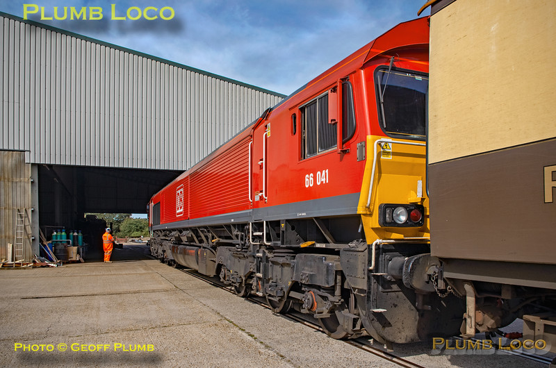 """BLS """"The Breckland Freighter"""", 66041, Eccles Road Johnston Sidings, 14th September 2019"""