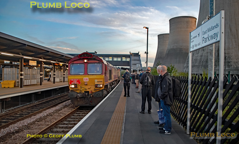 """BLS """"The Breckland Freighter"""", 66088, East Midlands Parkway, 14th September 2019"""
