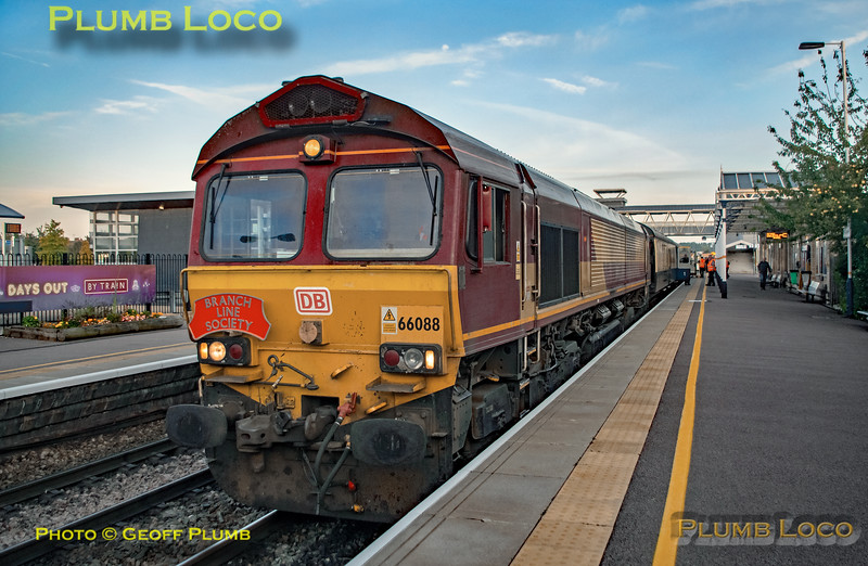 """BLS """"The Breckland Freighter"""", 66088, Loughborough, 14th September 2019"""