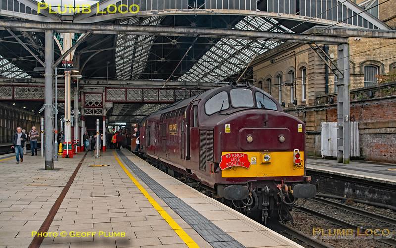 "BLS ""The Luca Pezzulo Express"", 37669, Preston Platform 5, 20th July 2019"