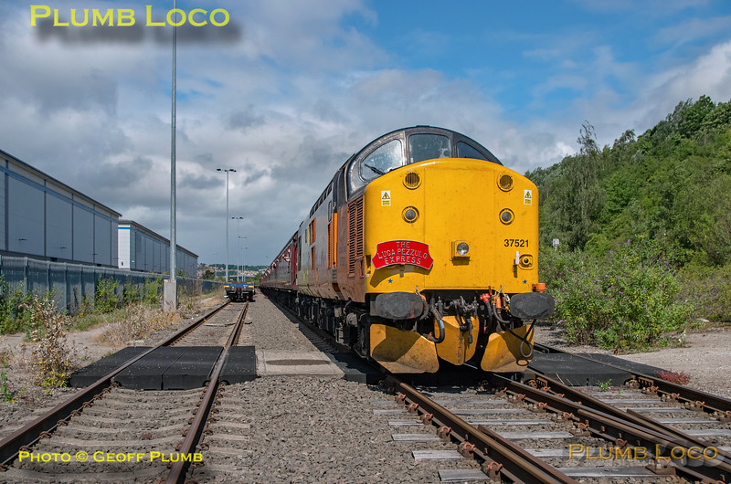 "BLS, ""The Luca Pezzulo Express, 37521, Tinsley Yard Line 4, 20th July 2019"