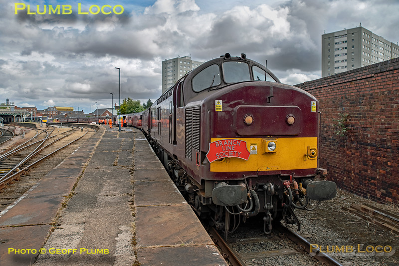 "BLS ""The Luca Pezzulo Express"", 37669, Hull Paragon Line E, 20th July 2019"