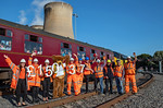 "BLS ""The Luca Pezzulo Express"", Presentation Group, Drax Power Station, 20th July 2019"