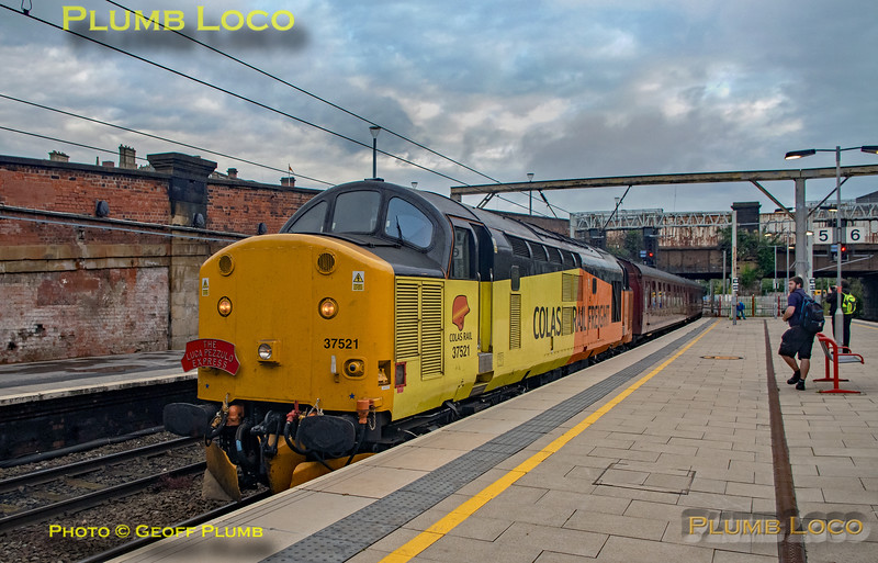 "BLS, ""The Luca Pezzulo Express, 37521, Preston Platform 5, 20th July 2019"