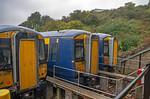 """BLS """"Sandwich Deal"""", 375s, Folkestone East Train Roads, 12th October 2019"""