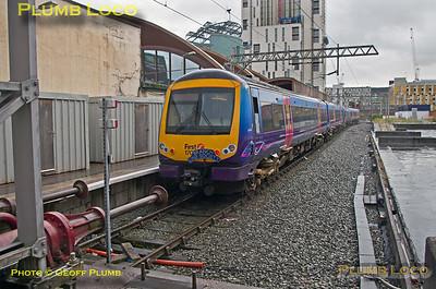 170 306, Turbo Prop Tracker, Manchester Oxford Road Platform 5, 1Z61, 2nd July 2016