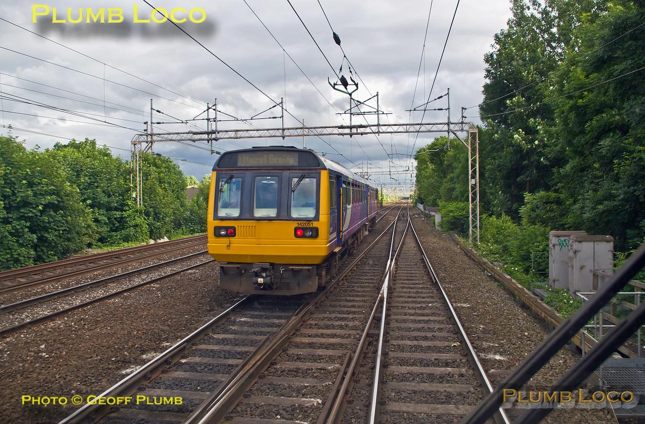 PoV 170 306, Turbo Prop Tracker, & 142 051, Longsight South Junction, 2nd July 2016