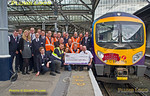 BLS Tyne & Tees Tracker Cheque Group, Newcastle Platform 10, 15th November 2015
