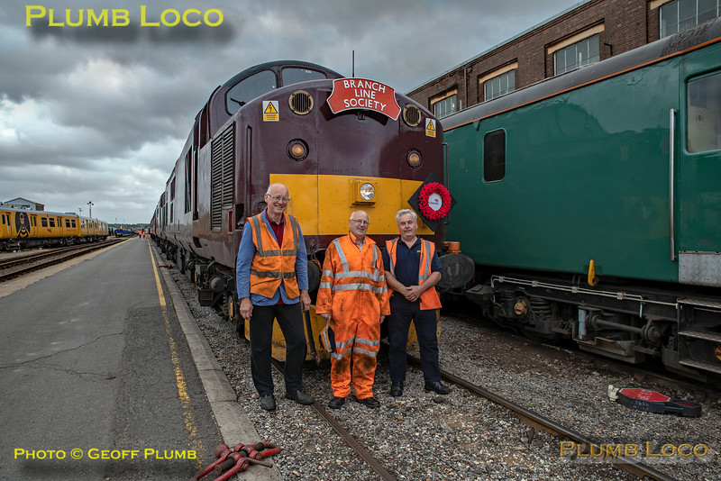 "BLS ""Type 3 to the Sea"", 37706, WCRC Group, Eastleigh Arlington, 10th August 2019"