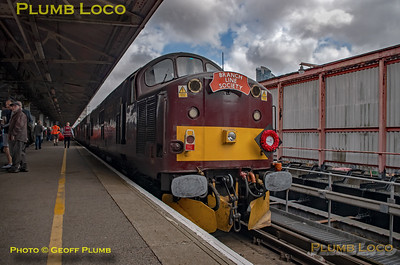 """BLS """"Type 3 to the Sea"""", 37706, Portsmouth Harbour Platform 5, 10th August 2019"""
