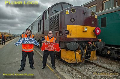 """BLS """"Type 3 to the Sea"""", 37706, Eastleigh Arlington, BLS Headboards, 10th August 2019"""