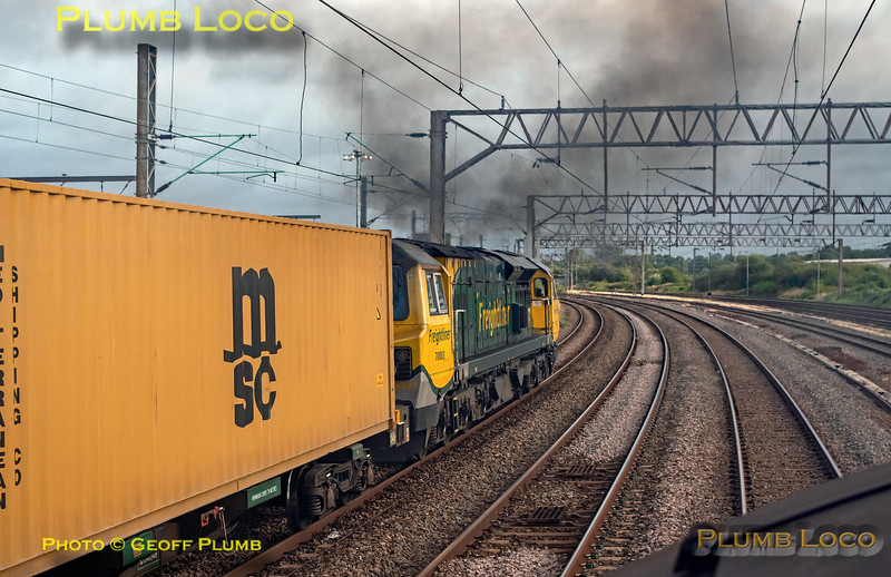 "BLS ""Type 3 to the Sea"", PoV 37669, 70003, Northampton Up & Down Slow, 10th August 2019"