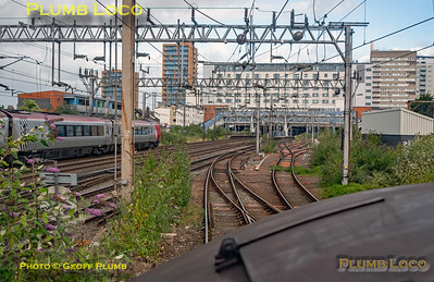 """BLS """"Type 3 to the Sea"""", PoV 37669, Wembley Yard North Departure Line, 10th August 2019"""