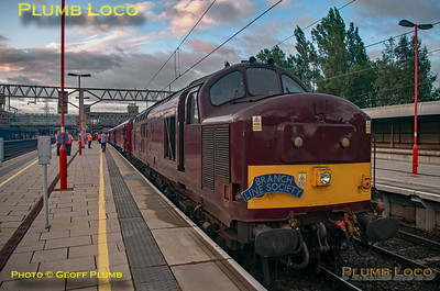 """BLS """"Type 3 to the Sea"""", 37669, Stafford Platform 4, 10th August 2019"""