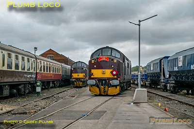 """BLS """"Type 3 to the Sea"""", 37706 Run Round, Eastleigh Arlington, 10th August 2019"""