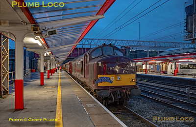 """BLS """"Type 3 to the Sea"""", 37669, Crewe Platform 5, 10th August 2019"""