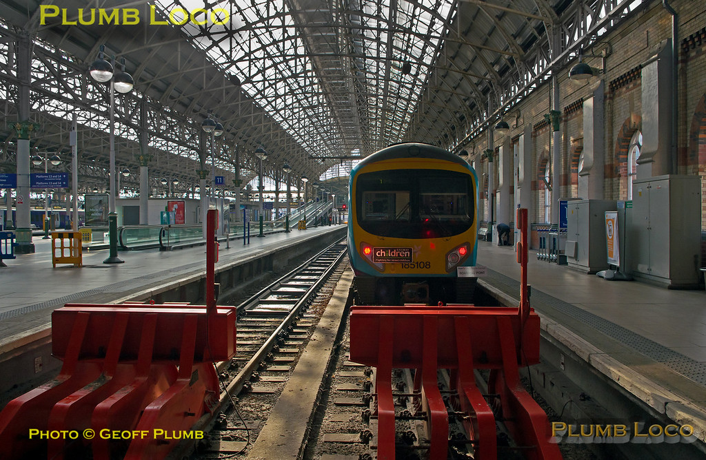 """185 108, BLS """"Vallum Hadriani"""", Manchester Piccadilly , 1Z17, 7th May 2017"""