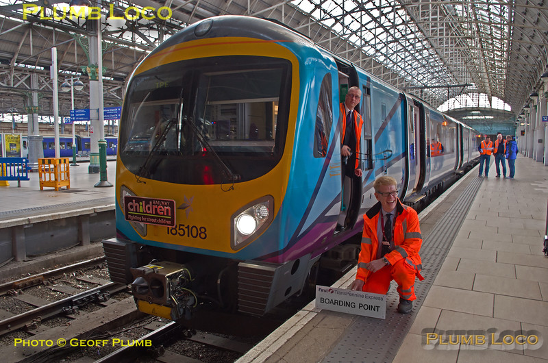"""185 108, BLS """"Vallum Hadriani"""", Kev Adlam, Manchester Piccadilly, 7th May 2017"""