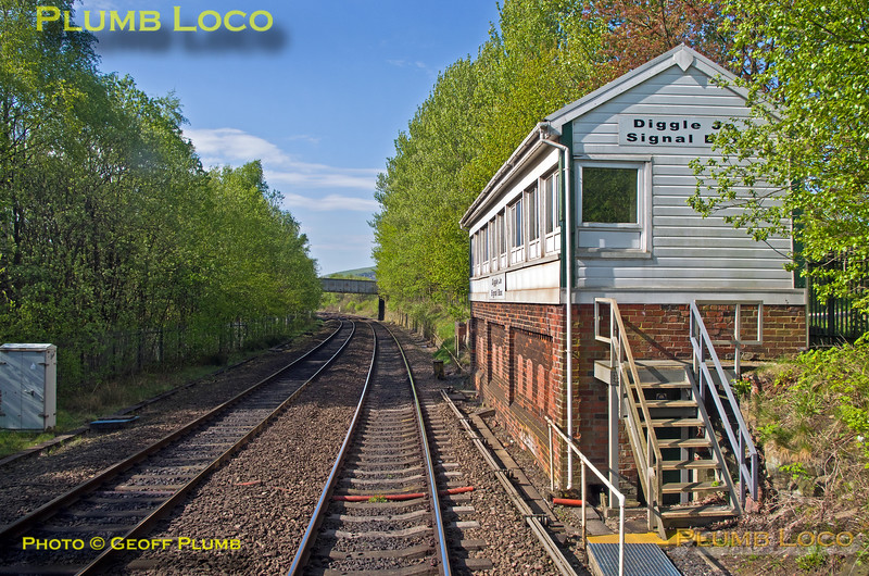 "PoV 185 108, BLS ""Vallum Hadriani"", Diggle Junction Signal Box, 1Z17, 7th May 2017"