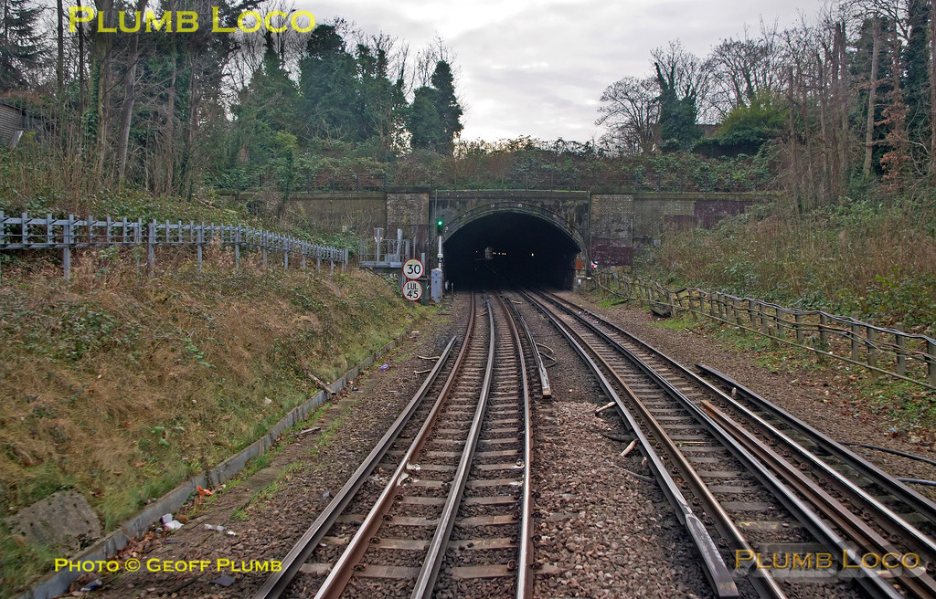 "PoV 455 870, BLS ""Vossloh Voyager"", East Putney Tunnel, 1Z45, 14th January 2017"