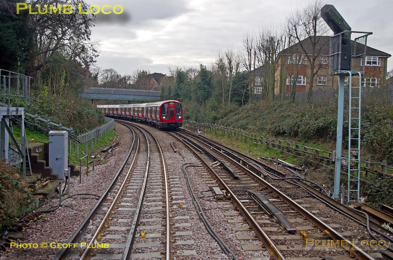"""PoV 455 870, BLS """"Vossloh Voyager"""", S7 21499, East Putney Junction, 14th January 2017"""