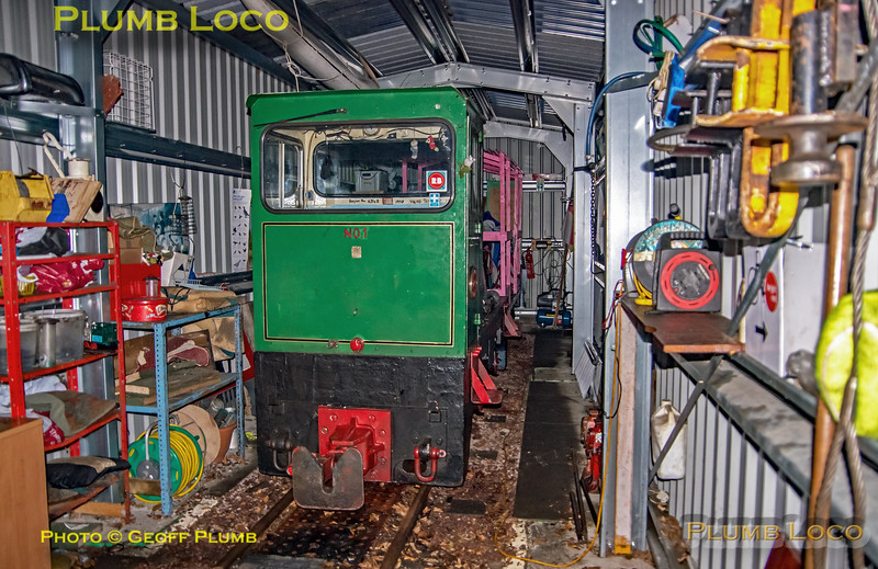 BLS Woodhorn, No. 1 in New Shed, 23rd February 2019