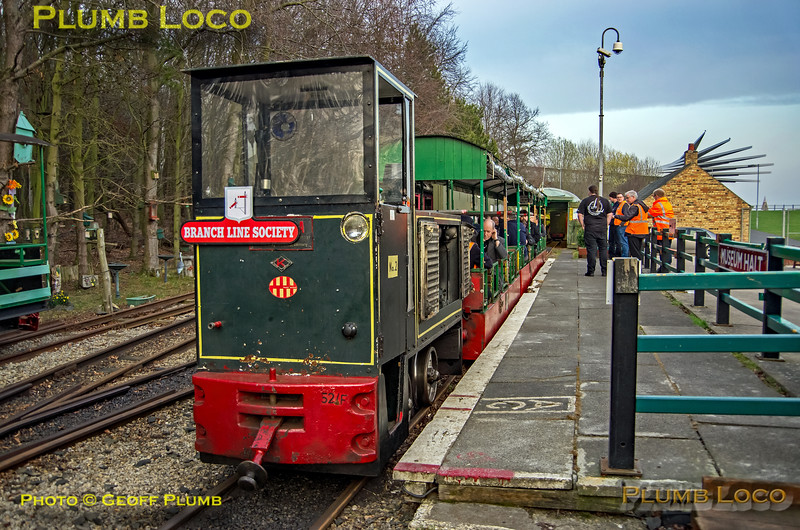 BLS Woodhorn, Woodhorn No. 2, Museum Halt, 23rd February 2019