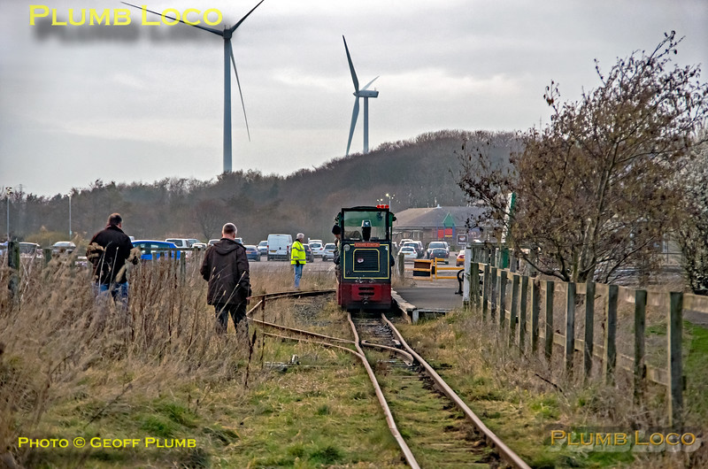BLS Woodhorn, No. 2, Lakeside Shunt, 23rd February 2019