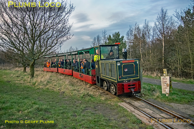BLS Woodhorn, No. 2, Lakeside Crossing, 23rd February 2019