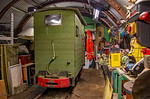 BLS Woodhorn, Brake Van in Shed, 23rd February 2019