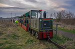 BLS Woodhorn, Woodhorn No. 2, Lakeside Halt, Shunt Move, 23rd February 2019